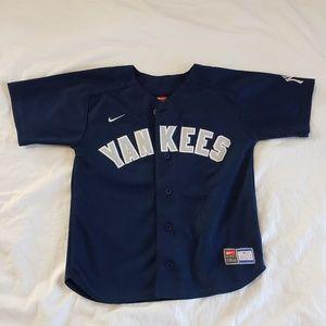 *SOLD*New York Yankees Baseball Jersey Derek Jeter